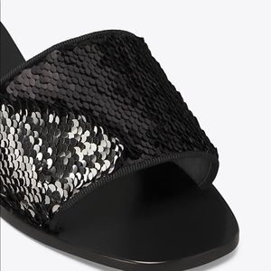 Tory Burch Carter Slide with reversible sequins